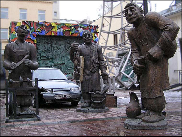 """фото """"Грузинские мотивы на Петровке."""" метки: портрет, мужчина"""
