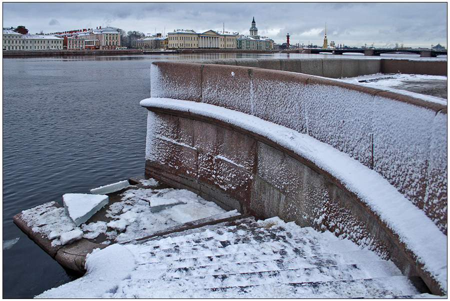 "photo ""Winter Begins"" tags: landscape, city, winter"