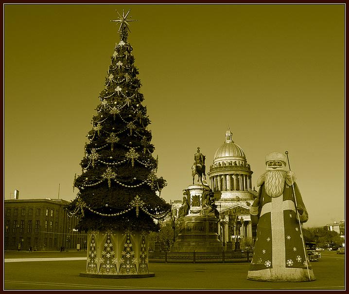"""фото """"Новый год без снега"""" метки: архитектура, город, пейзаж,"""