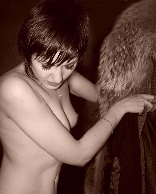 "photo ""Холодает....."" tags: portrait, woman"