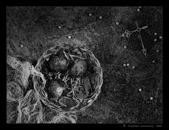 "photo ""Nest (Tales about lost time)"" tags: still life,"