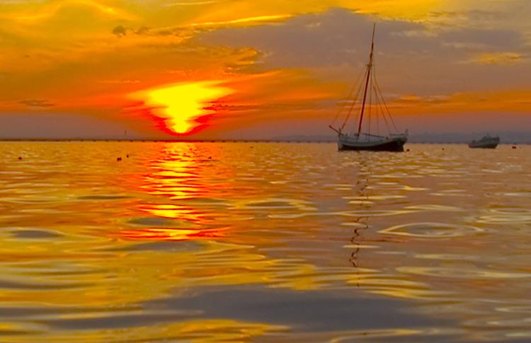 "фото ""Water Scenery"" метки: пейзаж, вода, закат"