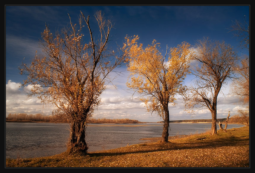 "photo ""Three and a half"" tags: landscape, autumn"