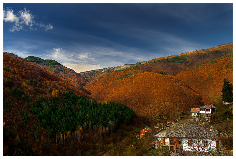 "photo ""Colors of the Autumn"" tags: landscape, autumn, mountains"