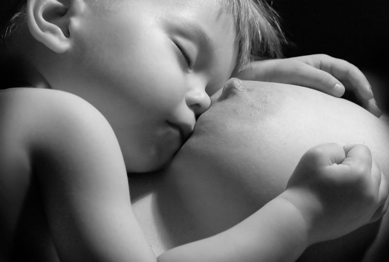 "photo ""Single my..The Mother dear...!"" tags: portrait, black&white, children"