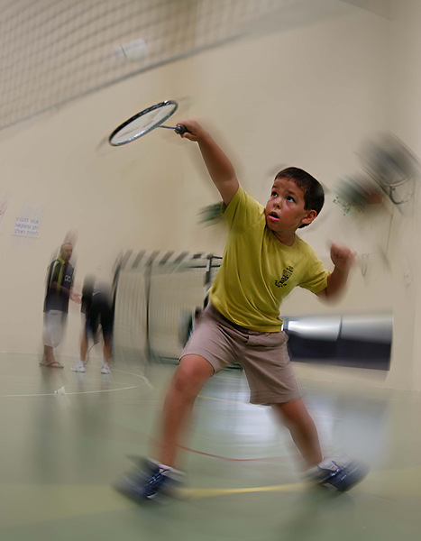"photo ""Badminton Star"" tags: sport,"
