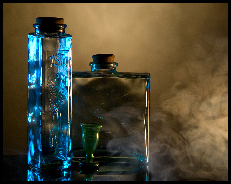 "photo ""When all the smoke .."" tags: still life,"