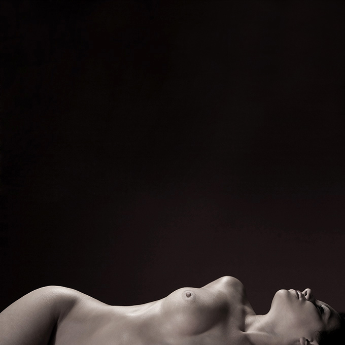 "photo ""Half Dreamy"" tags: nude, black&white,"