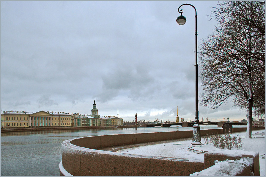 "photo ""Peteburg  winter"" tags: architecture, landscape,"