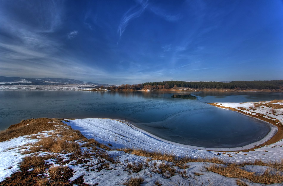 "photo ""Winter Lake"" tags: landscape, water, winter"