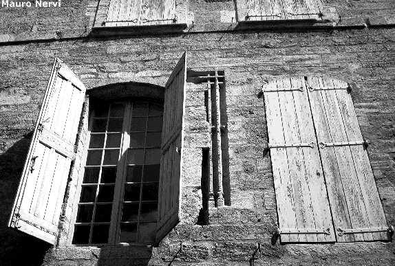 "photo ""windows of France"" tags: architecture, landscape,"