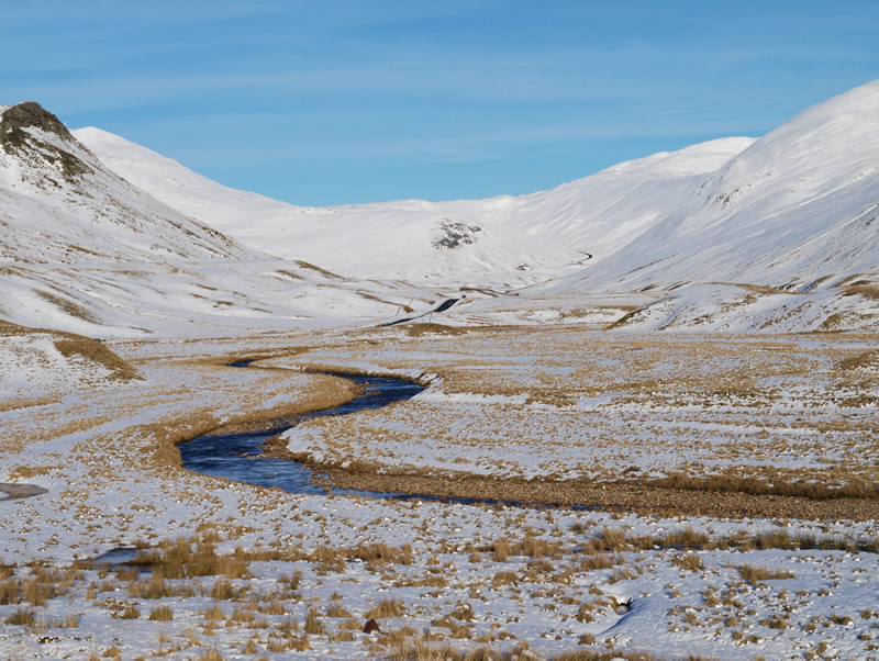 "photo ""Snow in Glenshee, Scotland"" tags: landscape, mountains, winter"