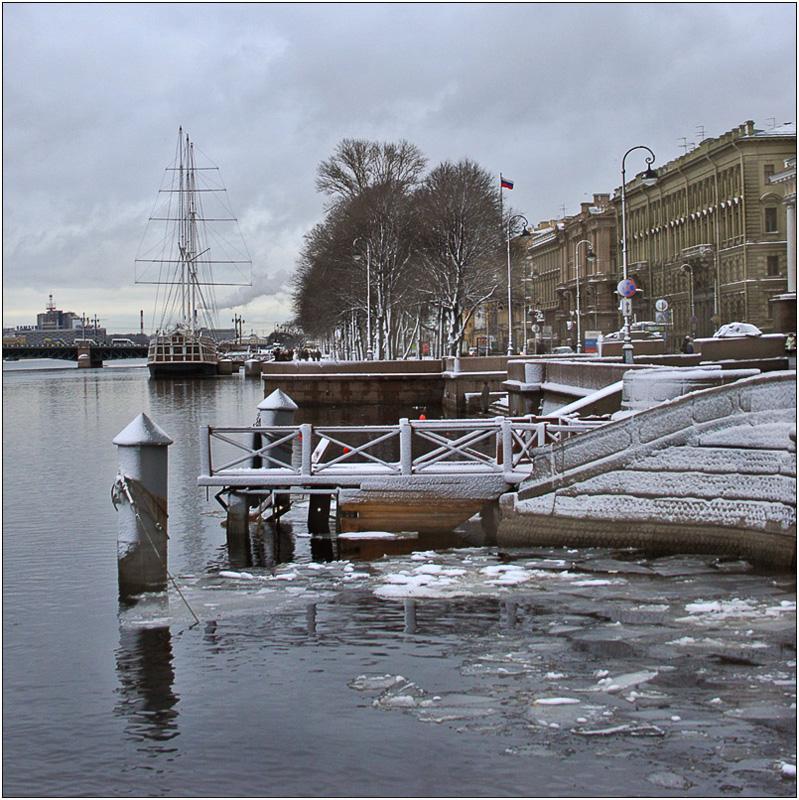 "photo ""Peterbug  winter"" tags: architecture, landscape,"