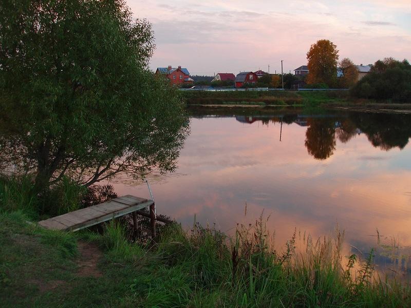 """фото """"На том же месте в тот же час"""" метки: пейзаж, закат, осень"""