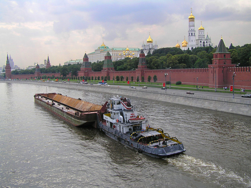 "фото ""Перспектива по Московской Реке"" метки: пейзаж, путешествия, Европа, вода"