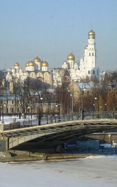 "photo ""Winter in Moscow"" tags: landscape, architecture, winter"