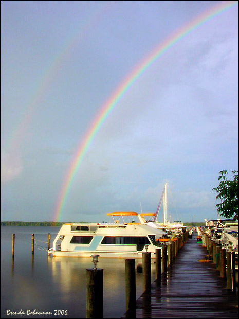 "photo ""Rainbow Pier"" tags: travel, North America"