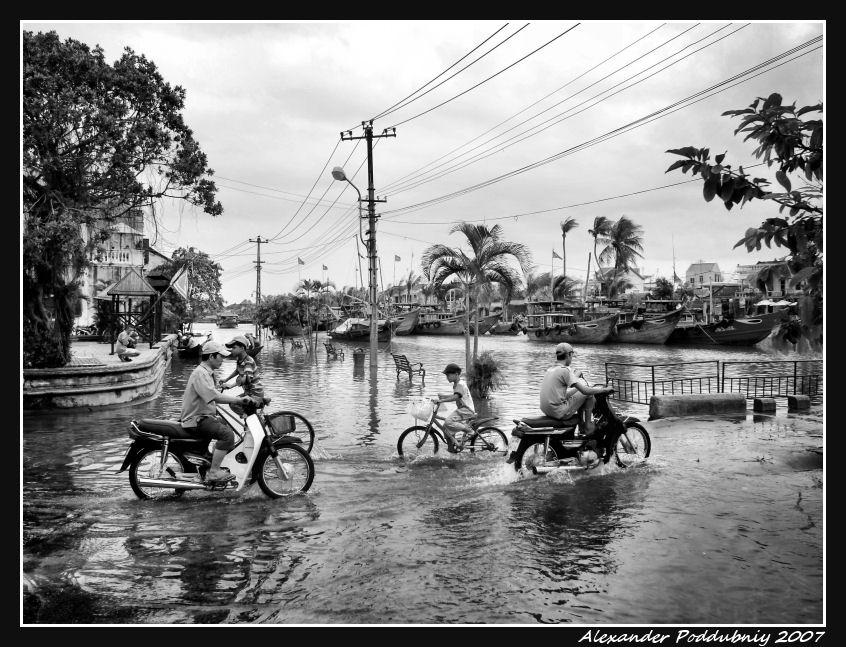 """фото """"-where the streets have no name-II"""" метки: путешествия, черно-белые, Азия"""