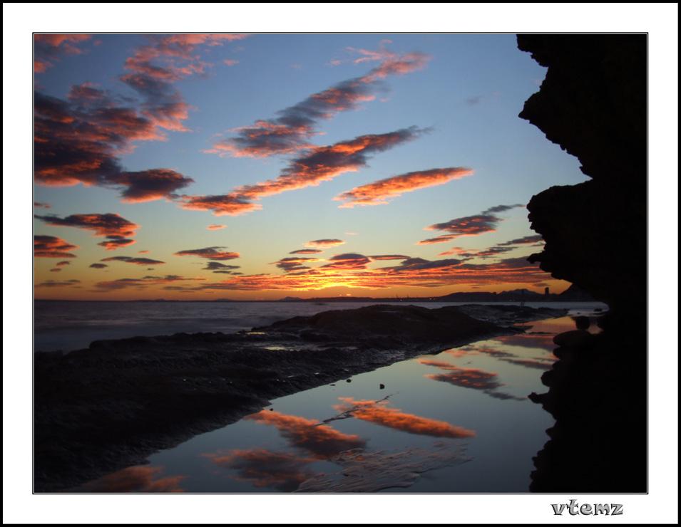 "photo ""Sunset"" tags: landscape, sunset"