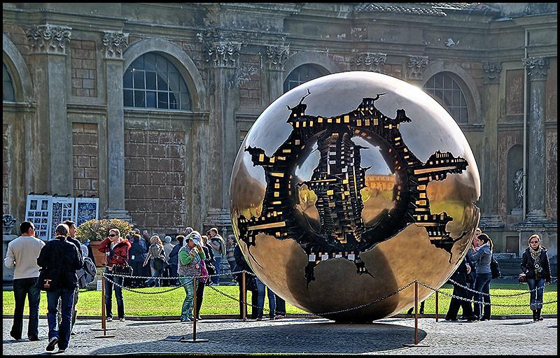 """photo """"Sfera con sfera"""" tags: architecture, city, landscape,"""