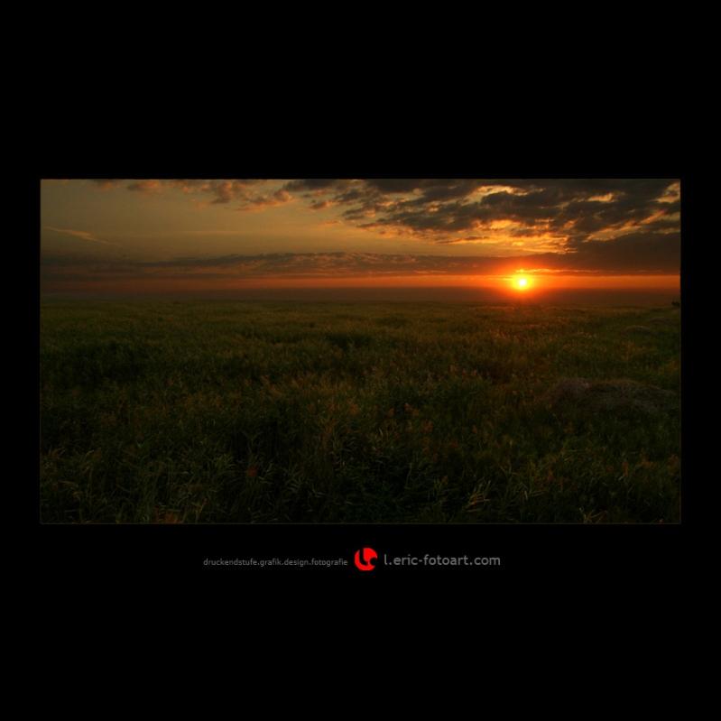 "photo ""morning has broken  . . . ."" tags: landscape, summer, sunset"