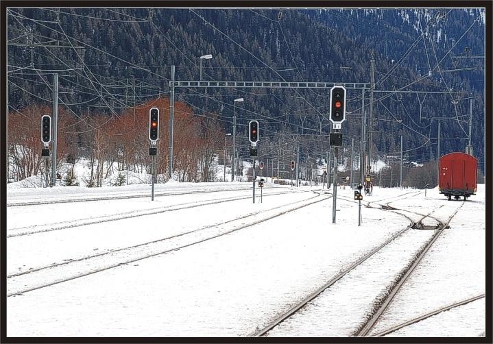 "photo ""Frozen tracks"" tags: landscape,"