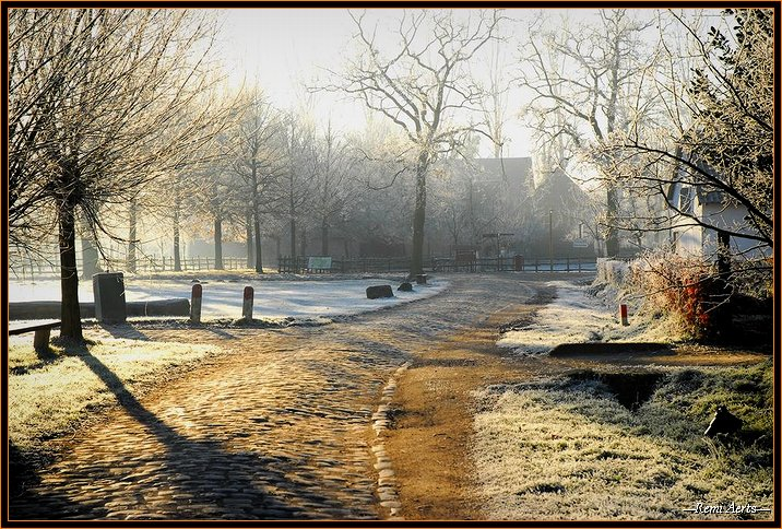"photo ""one fine winterday"" tags: landscape, winter"