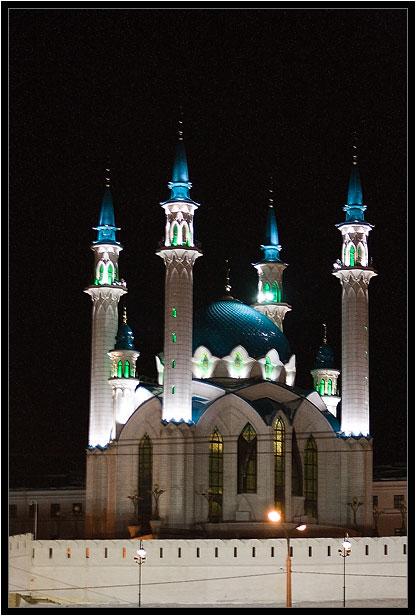 """фото """"Ночная мечеть"""" метки: архитектура, пейзаж,"""