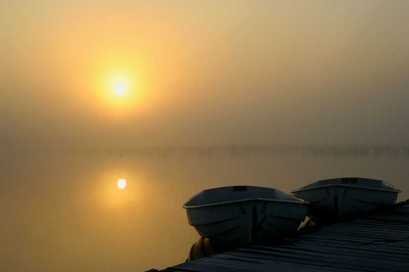 "photo ""Sunrise"" tags: landscape, summer, water"