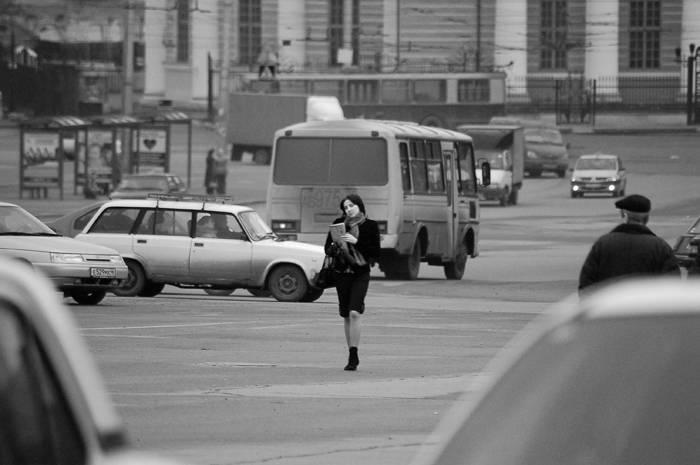 """photo """"В городской суете"""" tags: genre,"""