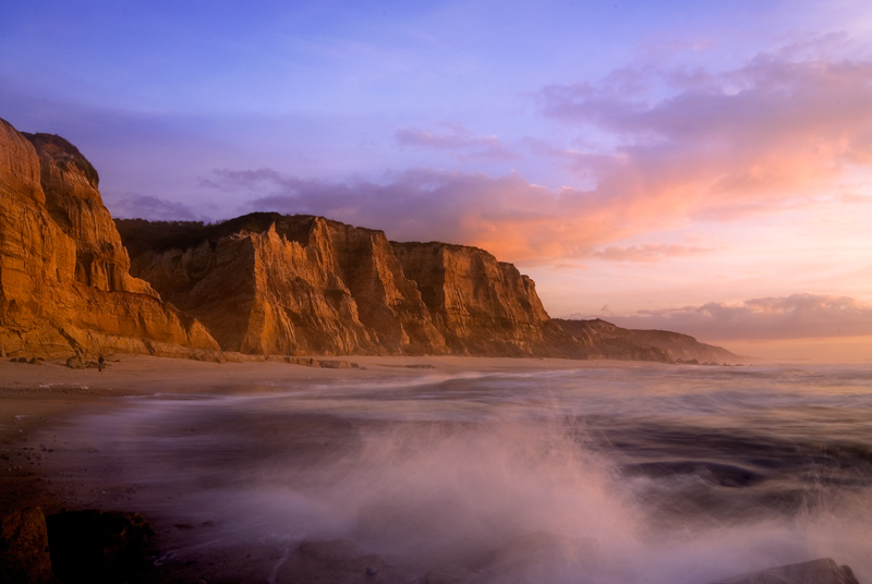 "photo ""Sunset in Vale Furado's Beach - Portugal"" tags: landscape, sunset, water"