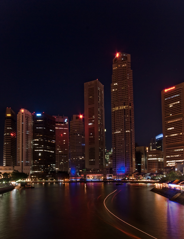 "photo ""Singapura by night"" tags: architecture, landscape,"