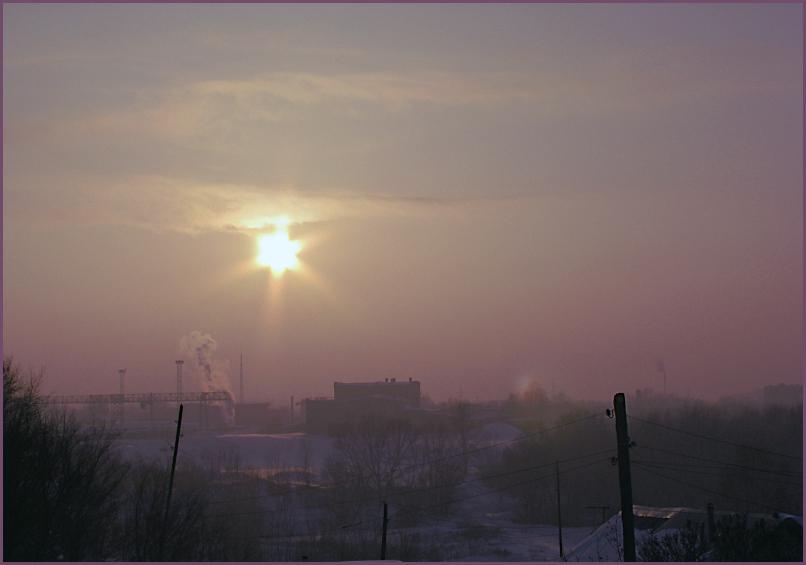 """фото """"Звезда по имени Солнце."""" метки: пейзаж, закат"""