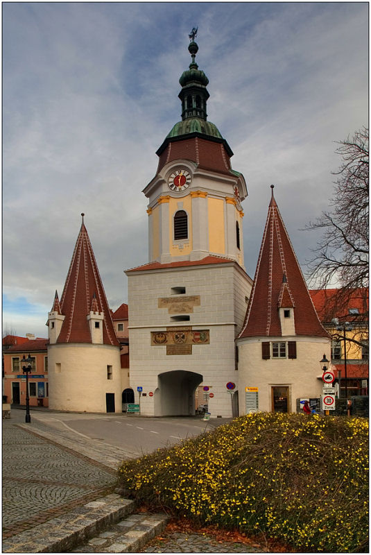 "photo ""Krems"" tags: architecture, travel, landscape, Europe"