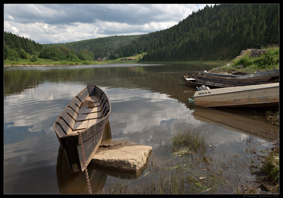 "photo ""Summer etude / 0175_0129"" tags: landscape, summer, water"