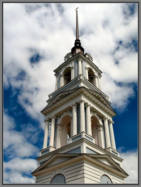 """фото """"Церковь в Калязине"""" метки: ,"""