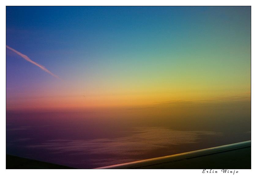 """фото """"Магия цвета"""" метки: пейзаж, закат, облака"""