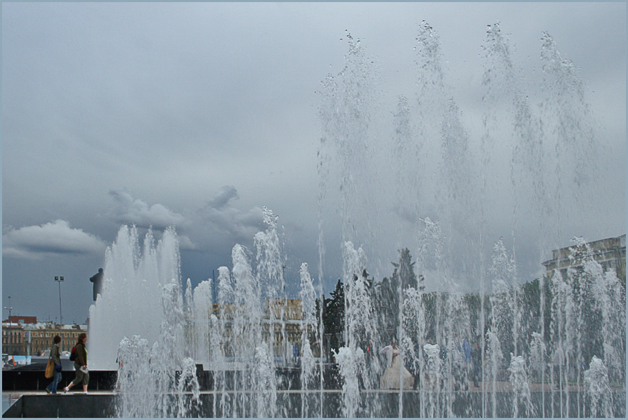 "photo ""Fountains"" tags: landscape, genre, water"