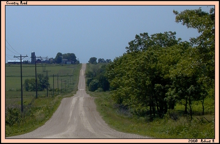 "photo ""Country Road"" tags: landscape, summer"