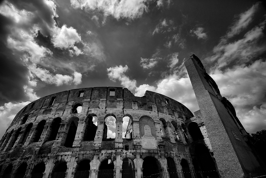 "photo ""Symbols of Rome"" tags: architecture, travel, landscape, Europe"