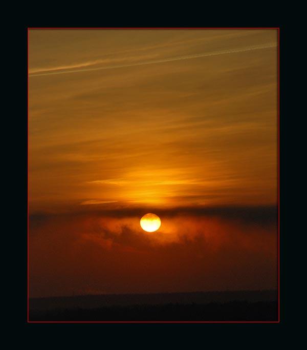"""фото """"И снова утро..."""" метки: пейзаж, закат"""
