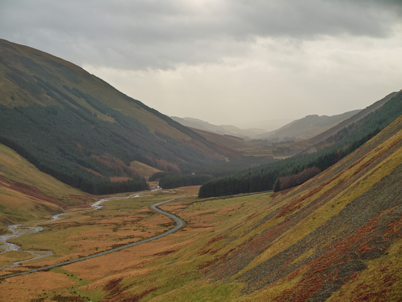 "photo ""Scottish Glen"" tags: landscape, travel, Europe, mountains"