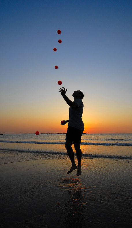 "photo ""Gravitation"" tags: landscape, sunset"