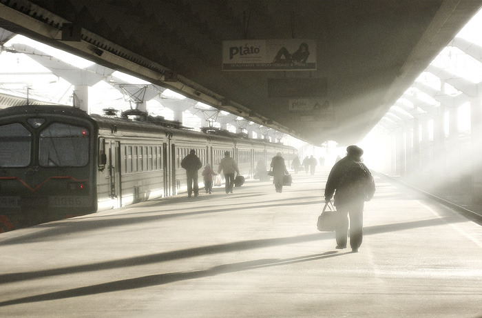 "photo ""Station..."" tags: genre,"
