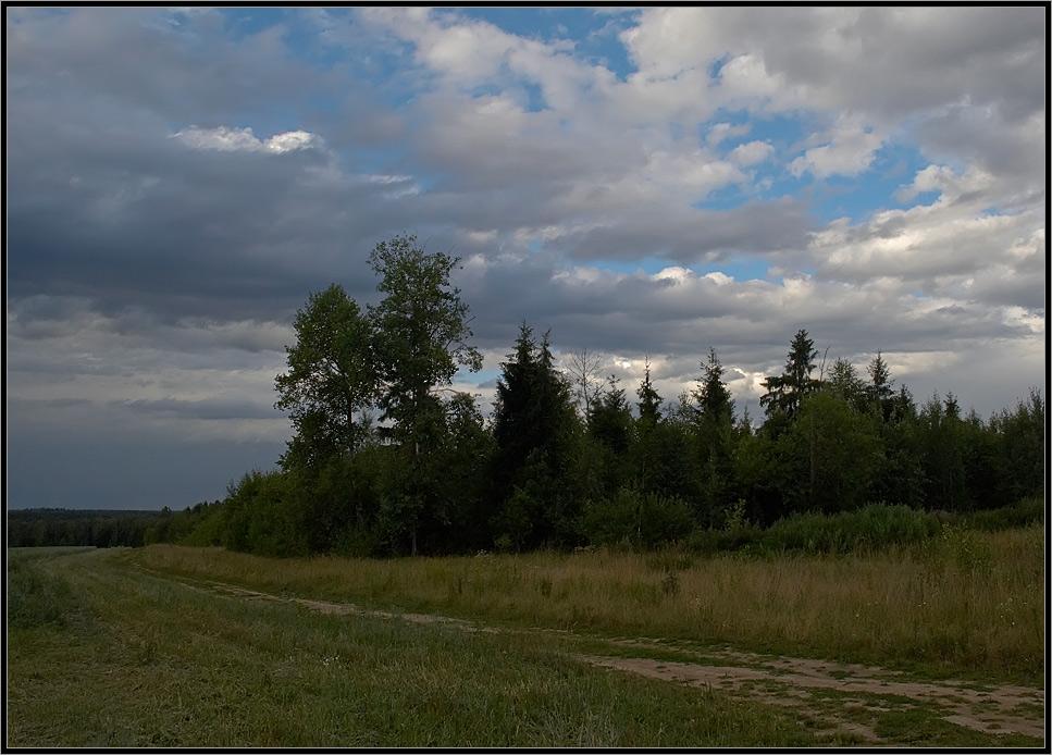 "photo ""Will it rain?"" tags: landscape, summer"
