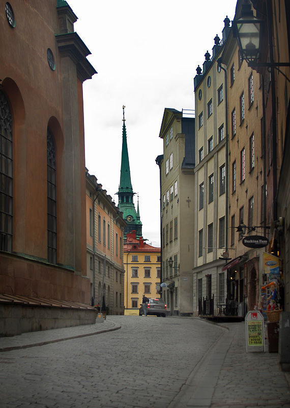 "photo ""Stockholm old city"" tags: architecture, travel, landscape, Europe"