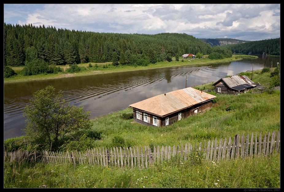 """фото """"Чусовая / 0176_0009"""" метки: пейзаж, вода, лето"""