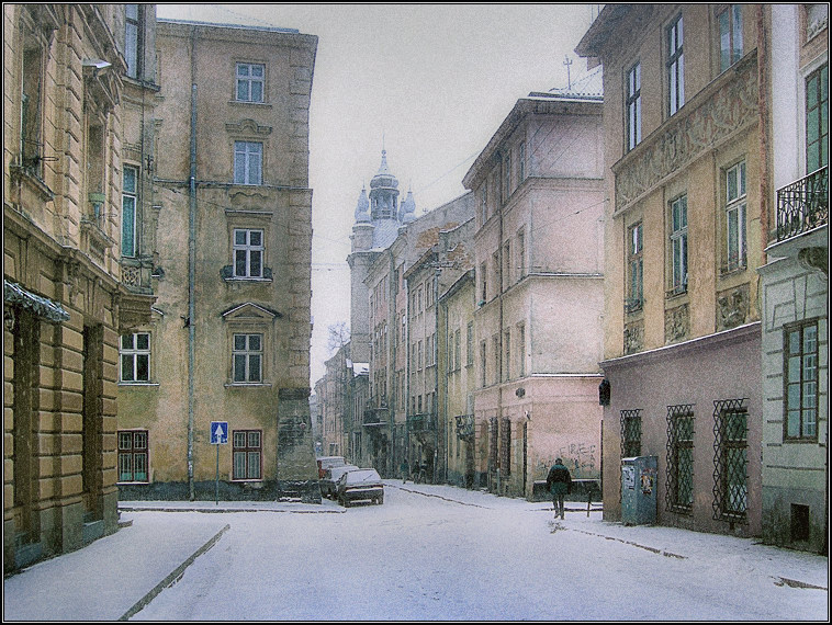 "photo ""Silent snowiness # 2"" tags: architecture, landscape, winter"