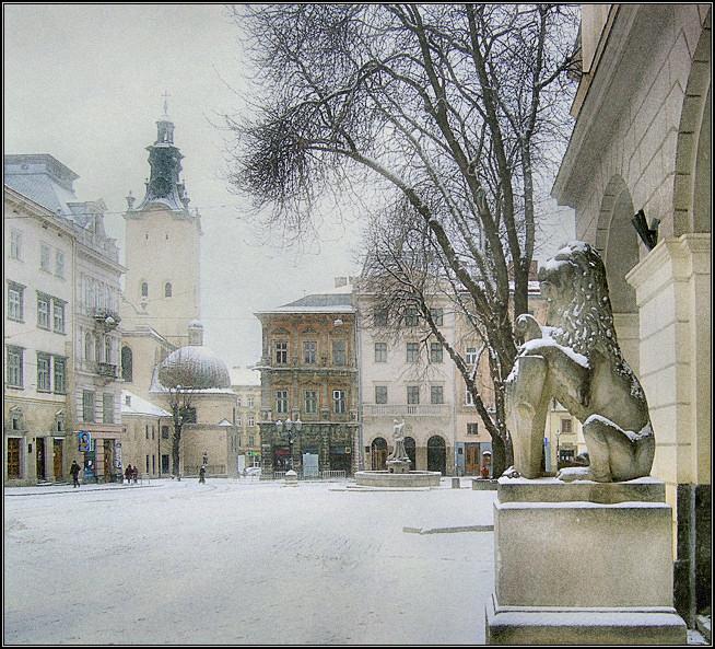 """фото """"Тихая снежность # 3"""" метки: архитектура, пейзаж, зима"""