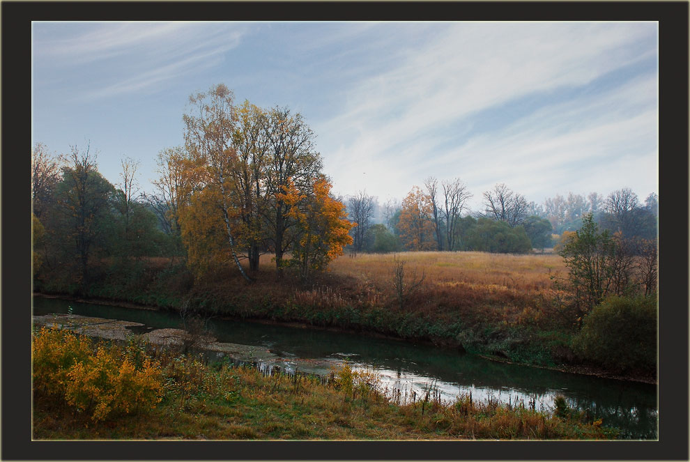 "photo ""Last September"" tags: landscape, autumn, water"